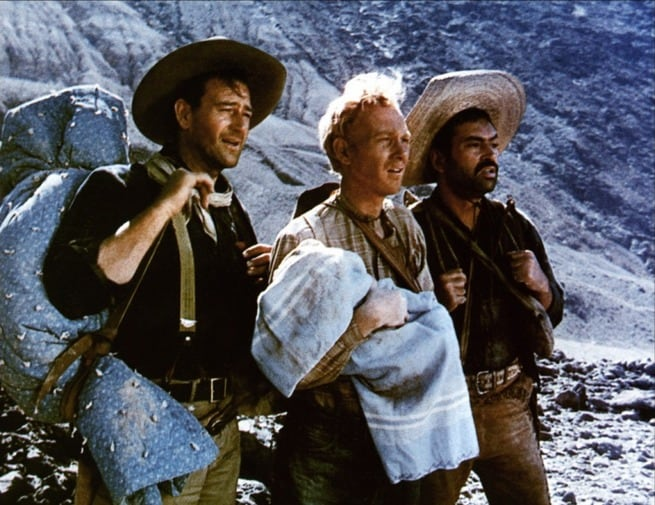 John Wayne, Pedro Armendariz, Harry Carey jr.