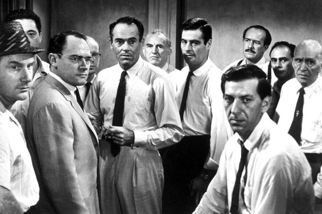 E. G. Marshall, Lee J. Cobb, Jack Warden, Henry Fonda