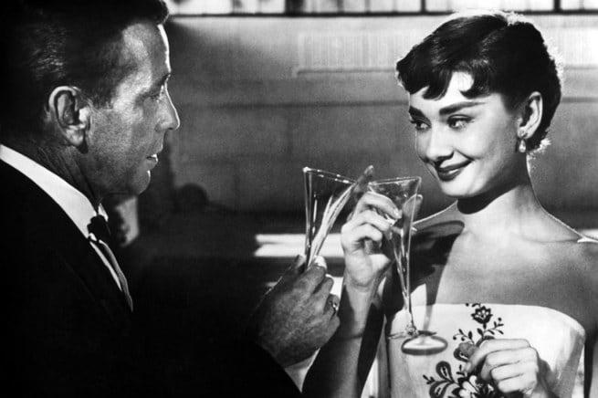 Humphrey Bogart, Audrey Hepburn