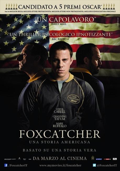 Cinema: Foxcatcher - Una storia americana