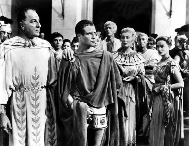 Marlon Brando, Greer Garson, Deborah Kerr, Louis Calhern