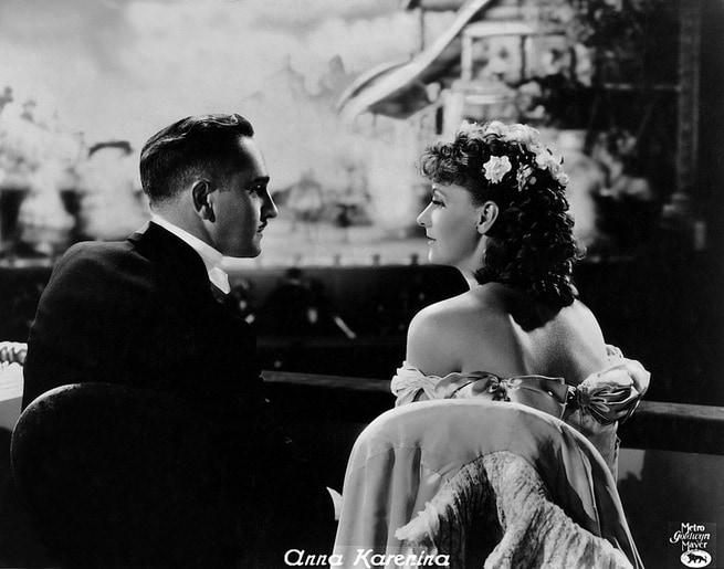 Fredric March, Greta Garbo