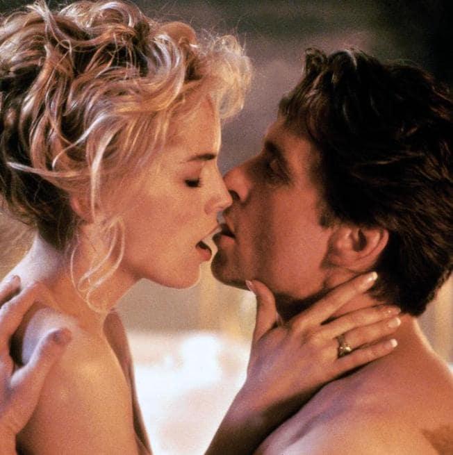 Sharon Stone, Michael Douglas