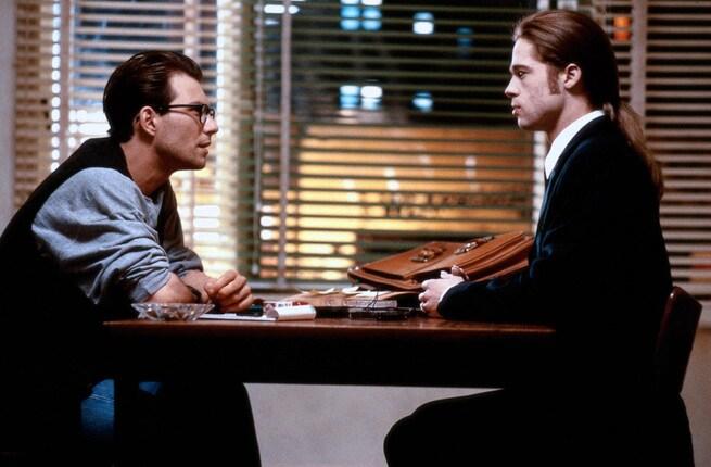 Christian Slater, Brad Pitt
