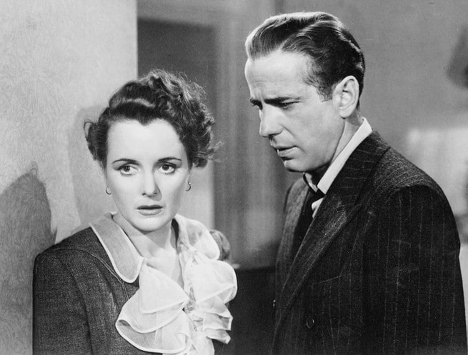 Mary Astor, Humphrey Bogart