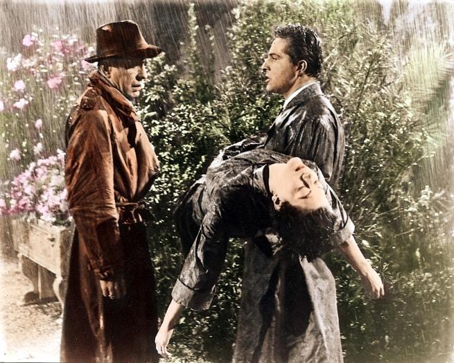 Humphrey Bogart, Rossano Brazzi, Ava Gardner