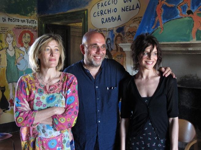 Valeria Bruni Tedeschi, Paolo Virzì, Micaela Ramazzotti