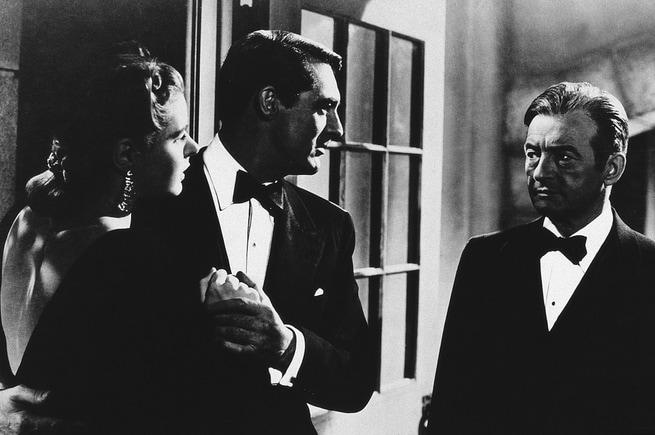 Ingrid Bergman, Cary Grant, Claude Rains