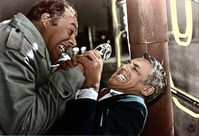 George Kennedy, Cary Grant