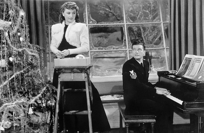 Barbara Stanwyck, Dennis Morgan