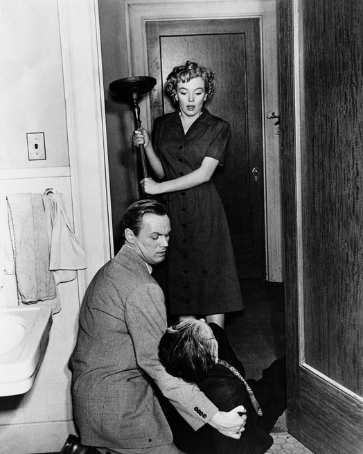 Marilyn Monroe, Richard Widmark