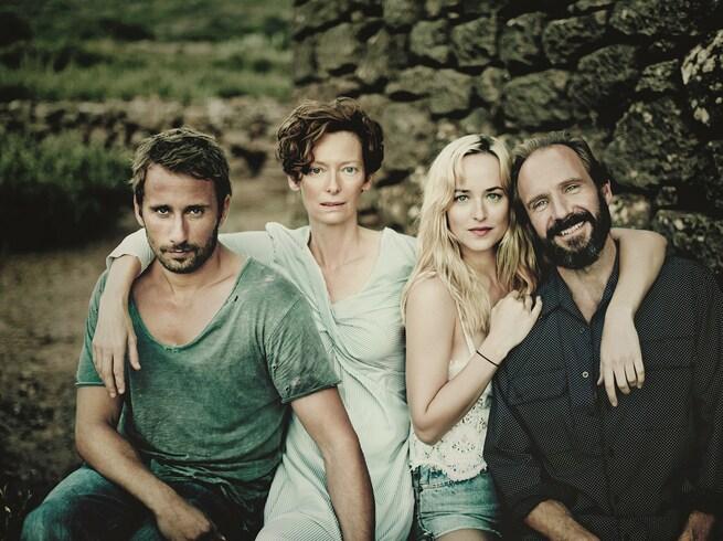 Matthias Schoenaerts, Tilda Swinton, Ralph Fiennes, Dakota Johnson