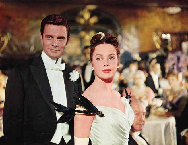 Louis Jourdan, Leslie Caron
