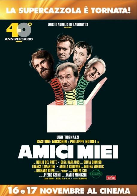 locandina italiana 40° anniversario