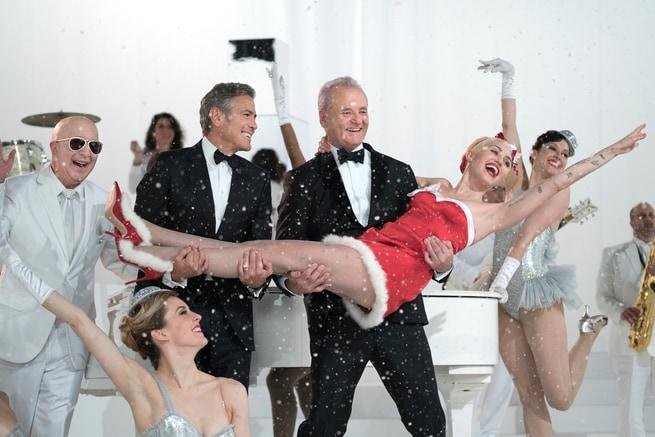 George Clooney, Bill Murray, Miley Cyrus