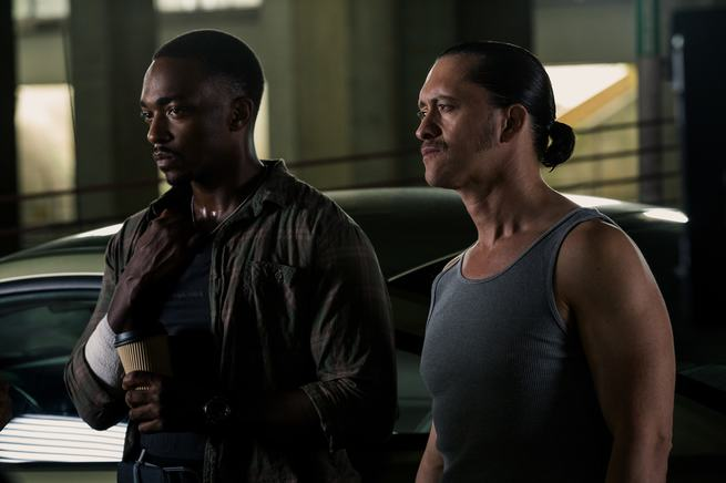 Anthony Mackie, Clifton Collins jr.