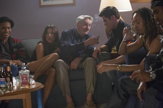 Jeffrey Bowyer-Chapman, Aubrey Plaza, Robert De Niro, Zac Efron