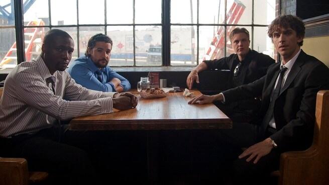 Dan Stevens, Michael Pitt, Christopher Abbott, Rob Brown