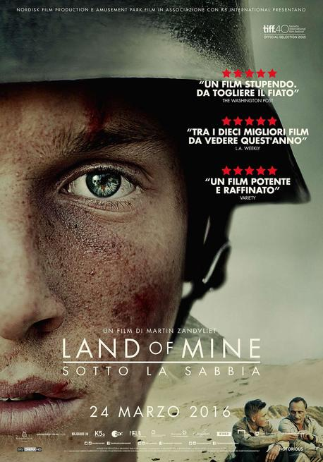 0/0 - Land of Mine - Sotto la sabbia
