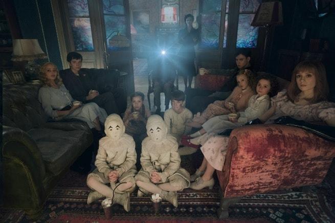 Asa Butterfield, Ella Purnell, Eva Green, Milo Parker, Pixie Davies