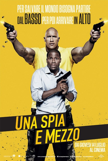 Una Spia E Mezzo (2016)