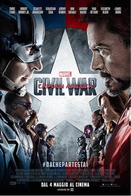 Captain America: Civil War (2016) streaming e download ita gratis