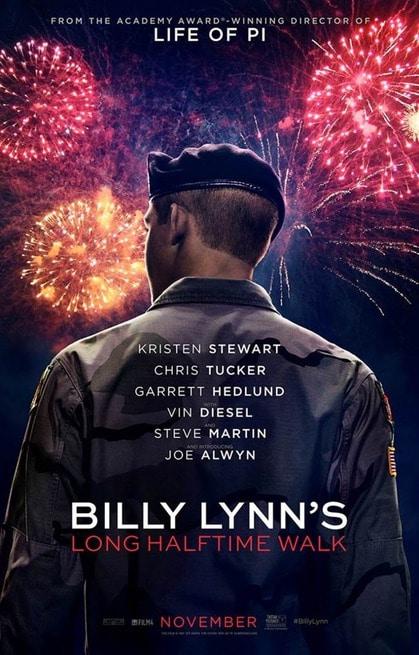 1/7 - Billy Lynn: Un giorno da eroe
