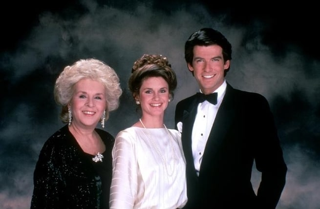 Doris Roberts, Pierce Brosnan, Stephanie Zimbalist