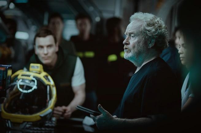 Michael Fassbender, Ridley Scott