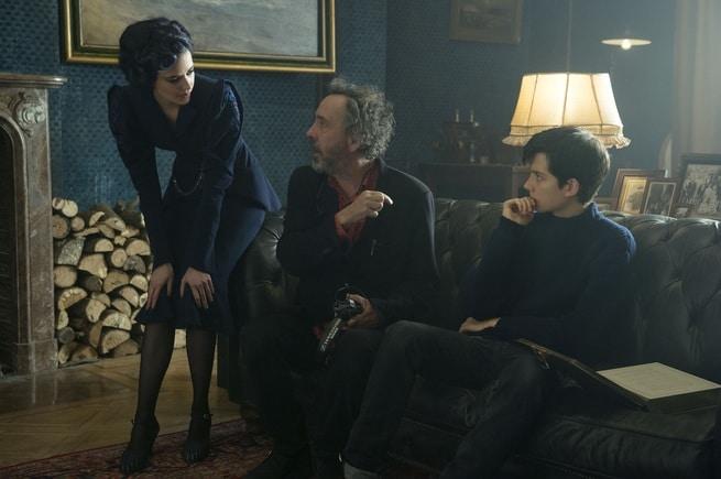 Eva Green, Tim Burton, Asa Butterfield