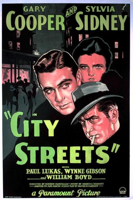 Risultati immagini per le vie della città film 1931 locandina