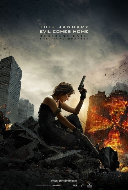 2/7 - Resident Evil: The Final Chapter