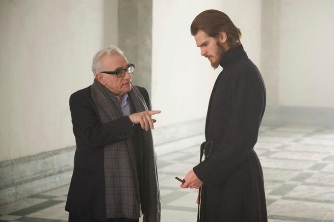 Andrew Garfield, Martin Scorsese