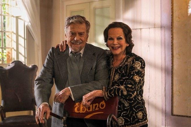 Raffaele Pisu, Claudia Cardinale