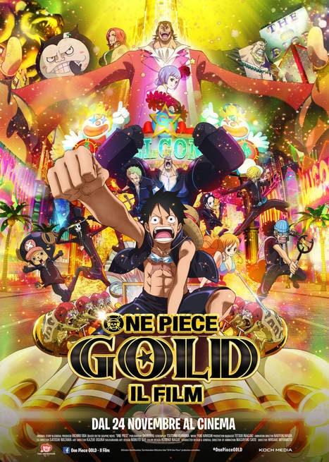 One Piece Gold – Il film [HD] (2016)