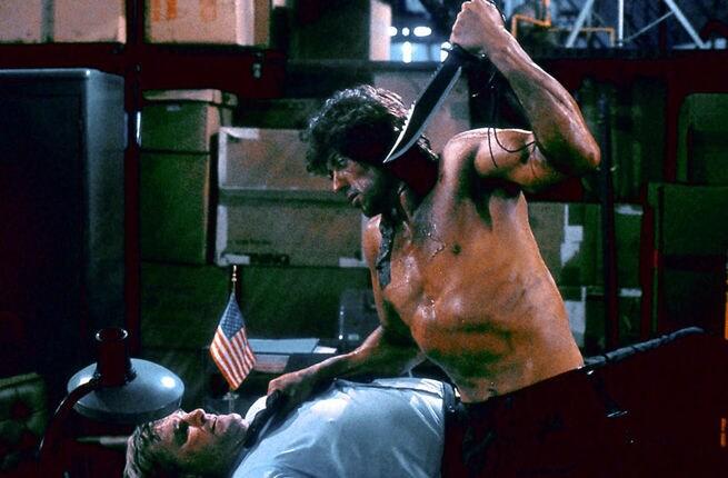 1/7 - Rambo II. La vendetta