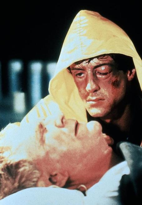 Sylvester Stallone, Burgess Meredith