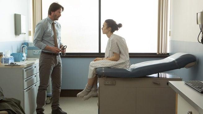 Lily Collins, Keanu Reeves