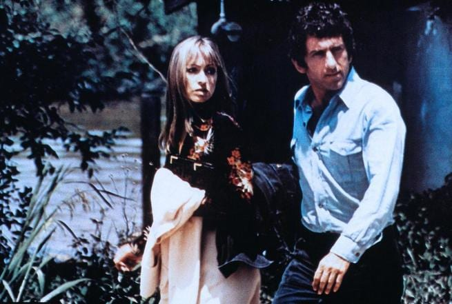 Barry Newman, Suzy Kendall