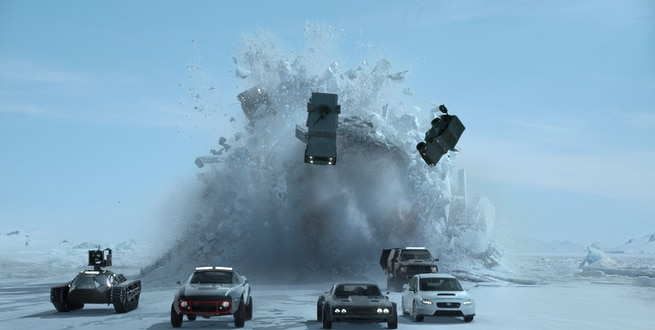 2/7 - Fast & Furious 8