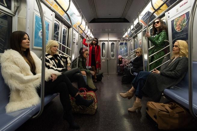 Sandra Bullock, Cate Blanchett, Rihanna, Mindy Kaling, Awkwafina, Helena Bonham Carter, Anne Hathaway, Sarah Paulson