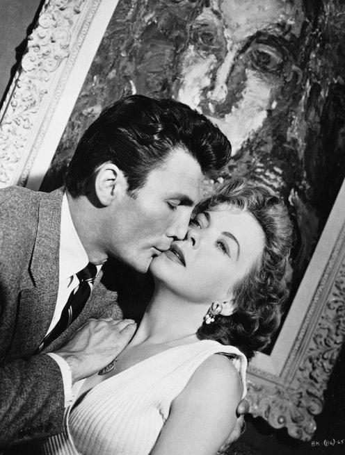 Jack Palance, Ida Lupino