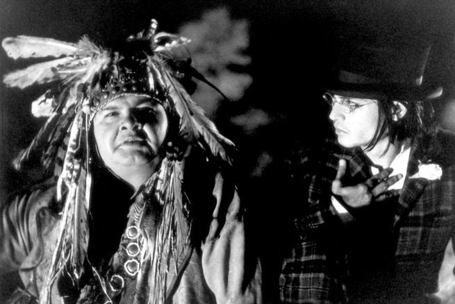 Johnny Depp, Gary Farmer