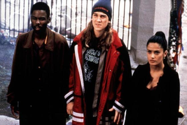Chris Rock, Jason Mewes, Salma Hayek