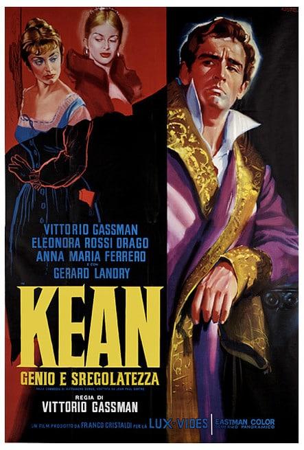 Risultati immagini per Kean, Genio e Sregolatezza