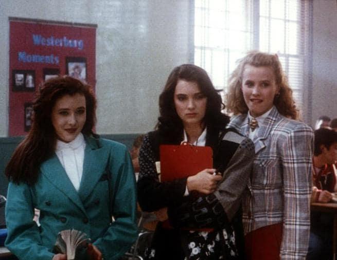 Shannen Doherty, Winona Ryder, Kim Walker