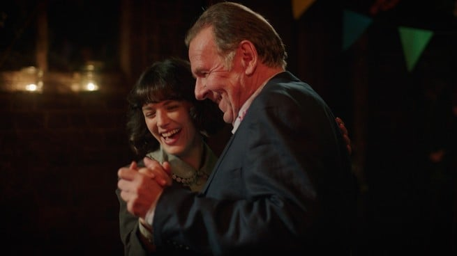 Jessica Brown Findlay, Tom Wilkinson
