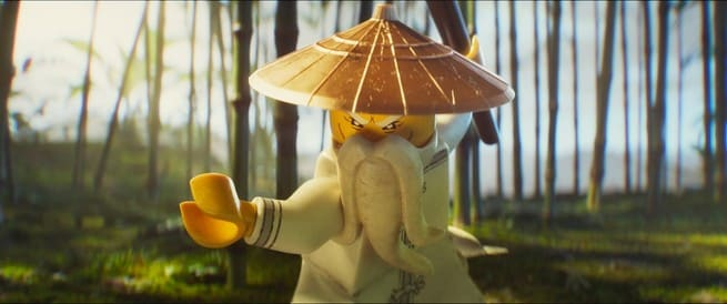 1/4 - Lego Ninjago: Il film