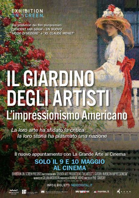 Il giardino degli artisti l 39 impressionismo americano 2017 - Il giardino degli artisti ...