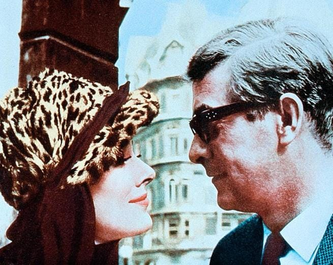 Michael Caine, Sue Lloyd